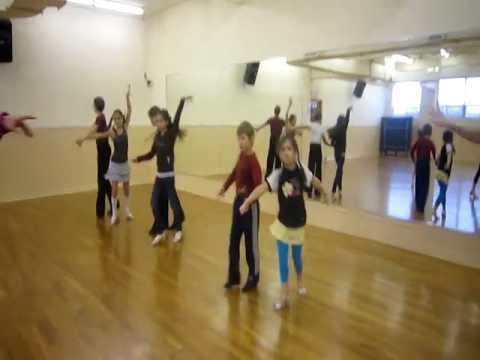 Latin dance classes for kids in Montreal