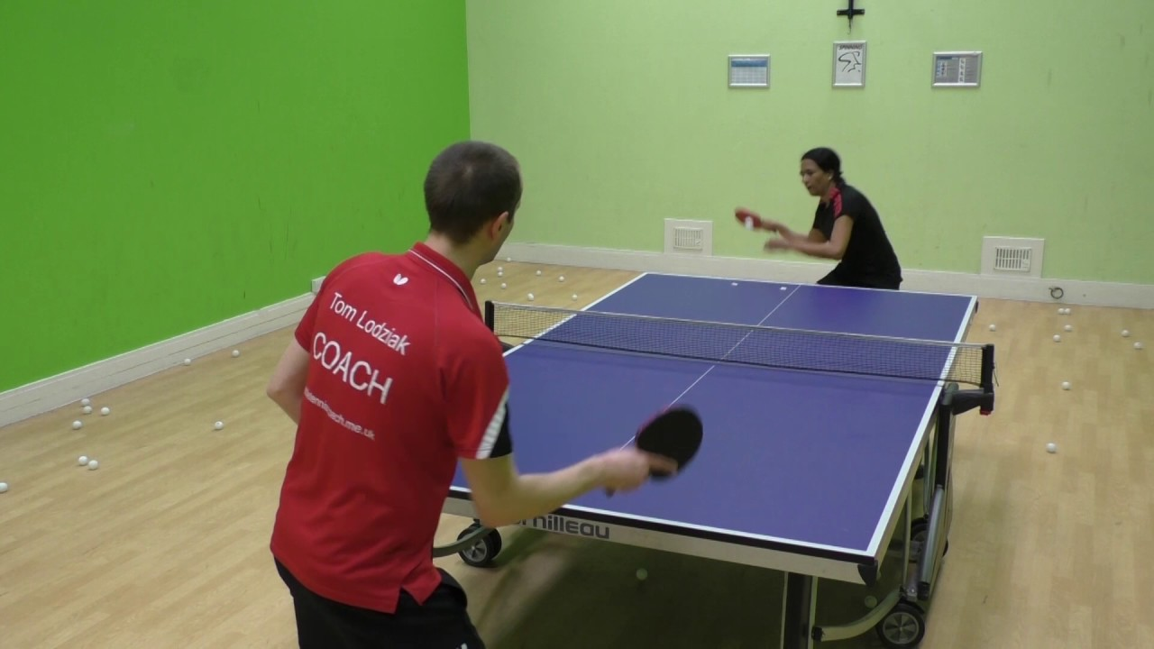 Small Steps Table Tennis Training Drill