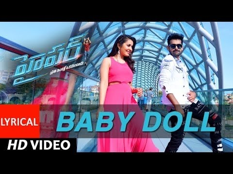 Baby Doll Video Song With Lyrics | Hyper | Ram Pothineni, Raashi Khanna, Ghibran | Telugu Songs 2016