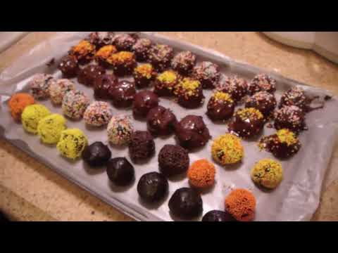 how to make chocolate truffles youtube. Black Bedroom Furniture Sets. Home Design Ideas