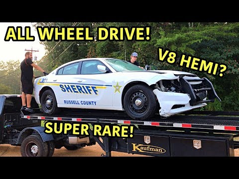 Rebuilding A Wrecked 2018 Dodge Charger Police Car!!!