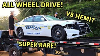 Download Rebuilding A Wrecked 2018 Dodge Charger Police Car!!! Mp3 and Videos