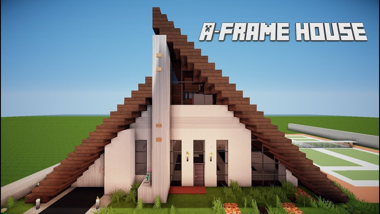 minecraft lets build a frame house