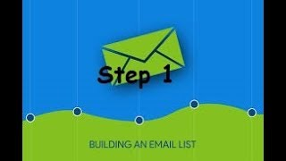 How To Grow Your Email List Training Video Part 1