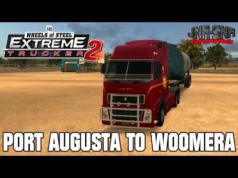 18 WOS ET2 | Port Augusta to Woomera | ROCKET PARTS