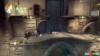 The Adventures Of Tintin: The Game Gameplay Xbox360 HD (GodGames Preview)