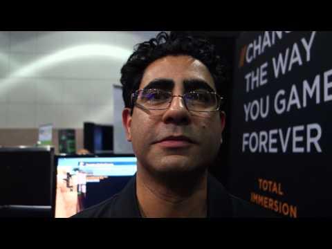KOR FX Haptic Feedback suit E3 2014