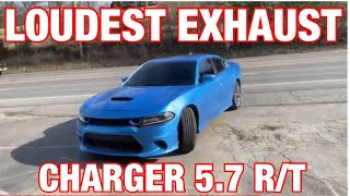 Top 5 LOUDEST Exhaust Set Ups for Dodge Charger 5.7L R/T HEMI!