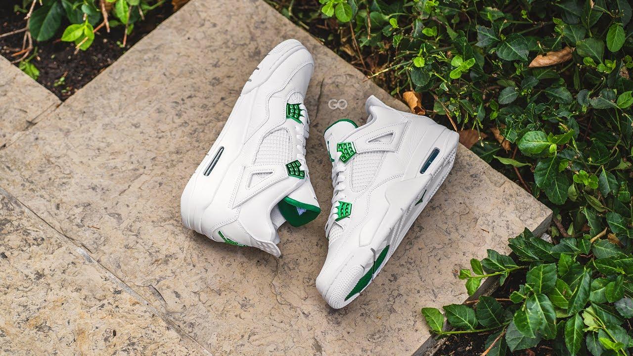 green jordan 4