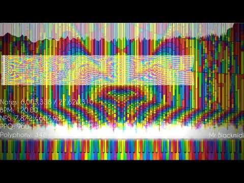[black-midi]-paprika's-noise-challenge-iv---nyan-cat-had-diarrhea