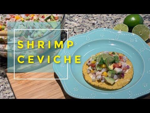 Shrimp Ceviche | Importance of knife skills and knife safety!