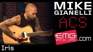 """Mike Gianelli performs """"Iris"""" live on EMGtv Mp3"""