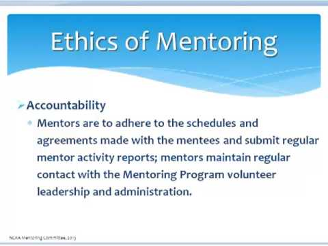 Ethics Of Mentoring Youtube
