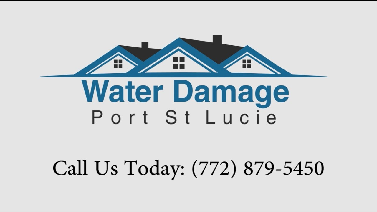 Water Damage Port St Lucie Fl Call Us 772 879 5450
