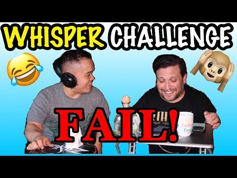 Joe's Fubar Whisper Challenge FAIL