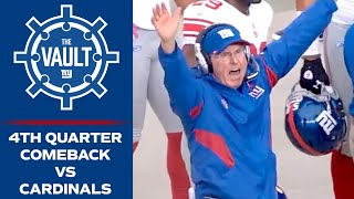 Giants Rally for 10-Point Comeback vs. Cardinals! | Week 4, 2011 Highlights