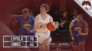 Loyola vs. UMKC   Men's Basketball Highlights