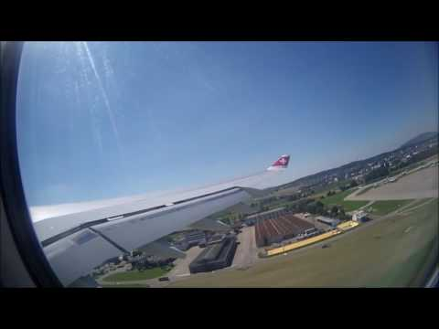 /Full Flight/ -  Zurich to Tokyo Narita - Swiss A340-300