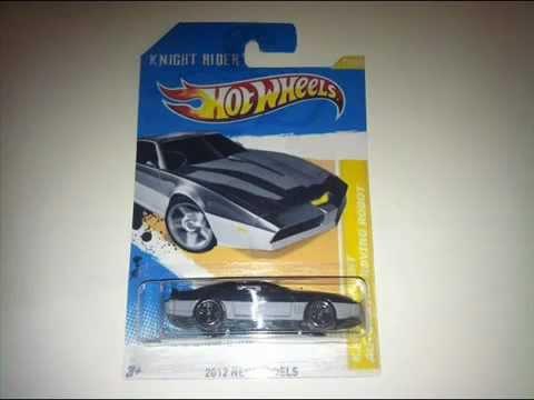 Custom Made Hot Wheels Knight Rider Karr Youtube