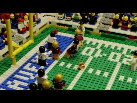 NFL Super Bowl XLVII: Baltimore Ravens Vs. San Francisco 49ers | Lego Game Highlights