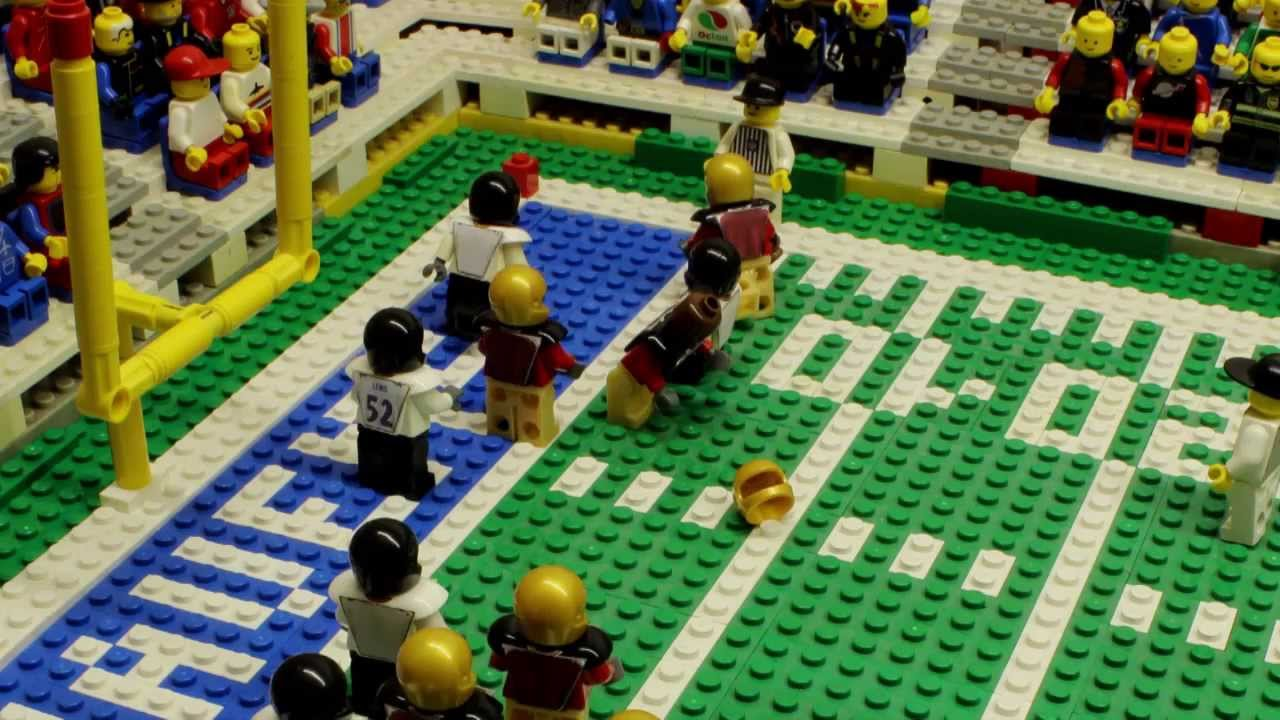 NFL Super Bowl XLVII: Baltimore Ravens vs. San Francisco 49ers  Lego Game Highlights  YouTube