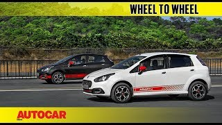 Drag Race: Abarth Punto vs 170hp Pete's Abarth Punto | Autocar India