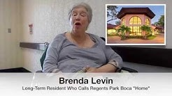 Testimonial from a Long Term Resident at Regents Park Boca Raton
