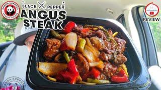 Panda Express® Black Pepper Angus Steak Bowl Review! 🐼🌶️🥩🍜