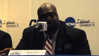 VUU Football Coach Mark James