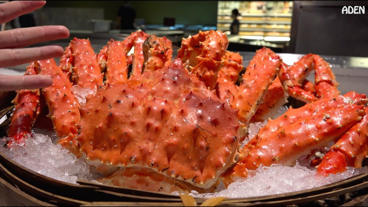 seafood in taipei king crab and lobster youtube rh youtube com king crab buffet prices king crab buffet japan