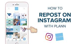 How to Repost on Instagram with Plann