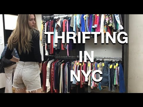 LIFE OF A MODEL: THRIFT SHOPPING IN NYC