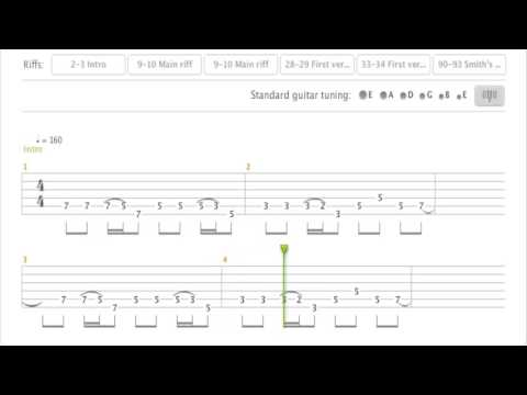 Iron Maiden - The Trooper Tab (Dave Murray)