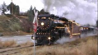 CP 3716 and The Kettle Valley Steam Railway Christmas Train