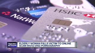 Elderly metro Detroit woman scammed with pornography