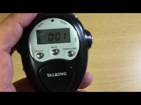 Test Podomètre radio FM parlant