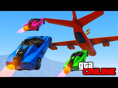 ROCKET VOLTIC STUNTS & ROCKET LEAGUE! || GTA 5 Online || PC (Funny Moments)