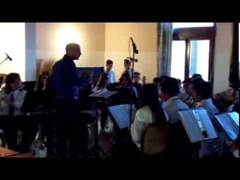 Orchestra didattica Leonforte al Campo Scuola