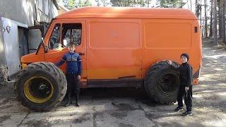 Мерседес 208 Д замерили расход топлива после поездки в Новосибирск .