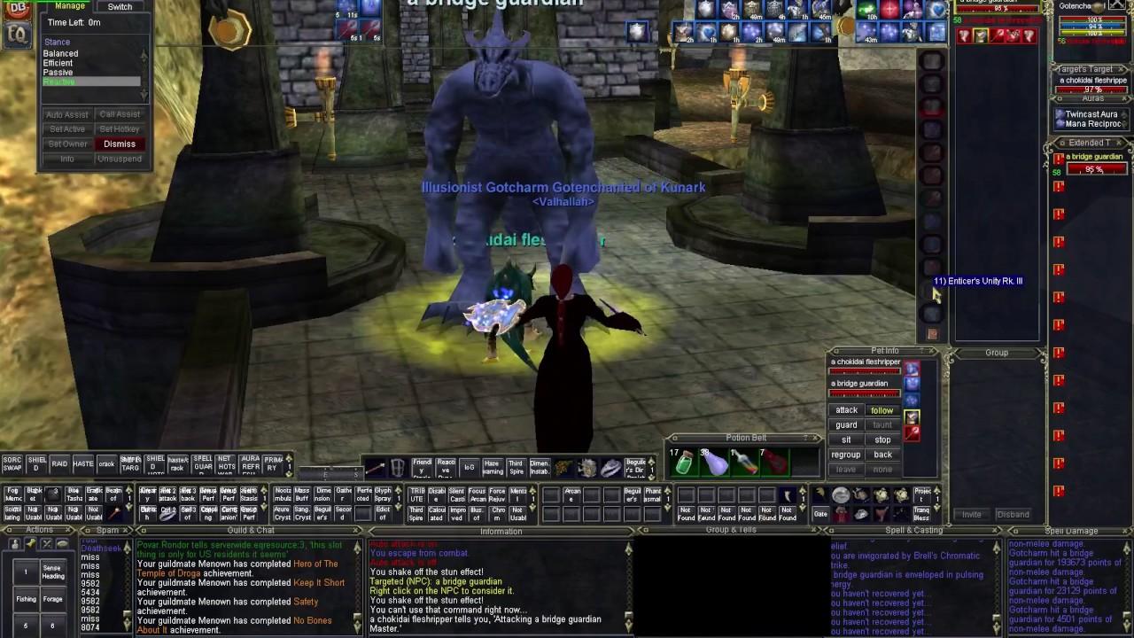 [Everquest] Enchanted in Chardok - Enchanter Solo