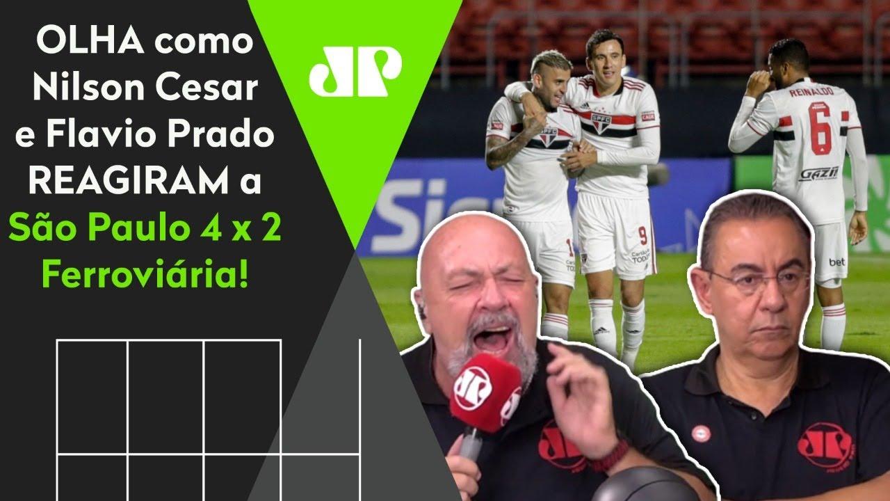 DE ARREPIAR! OLHA como Nilson Cesar PIROU com SHOW do São Paulo contra a Ferroviária!