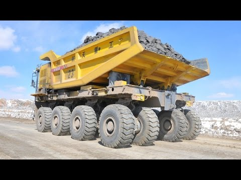 The Largest Chinese Mining Truck