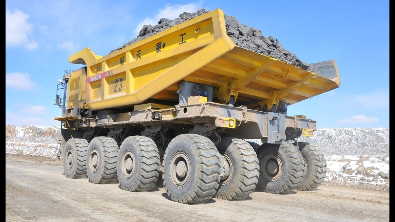 The Largest Chinese Mining Truck Youtube