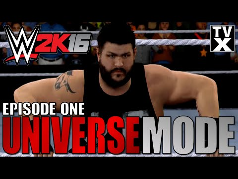 Let's Play - WWE 2K16 Universe Mode Ep.1 [WWE 2K16 Gameplay Commentary]