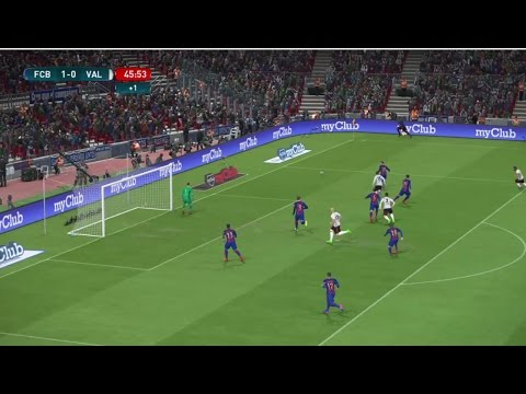 [HD] FC Barcelona Vs FC Valencia | Liga Santander | Journée 28 | 19 Mars 2017 | PES 2017