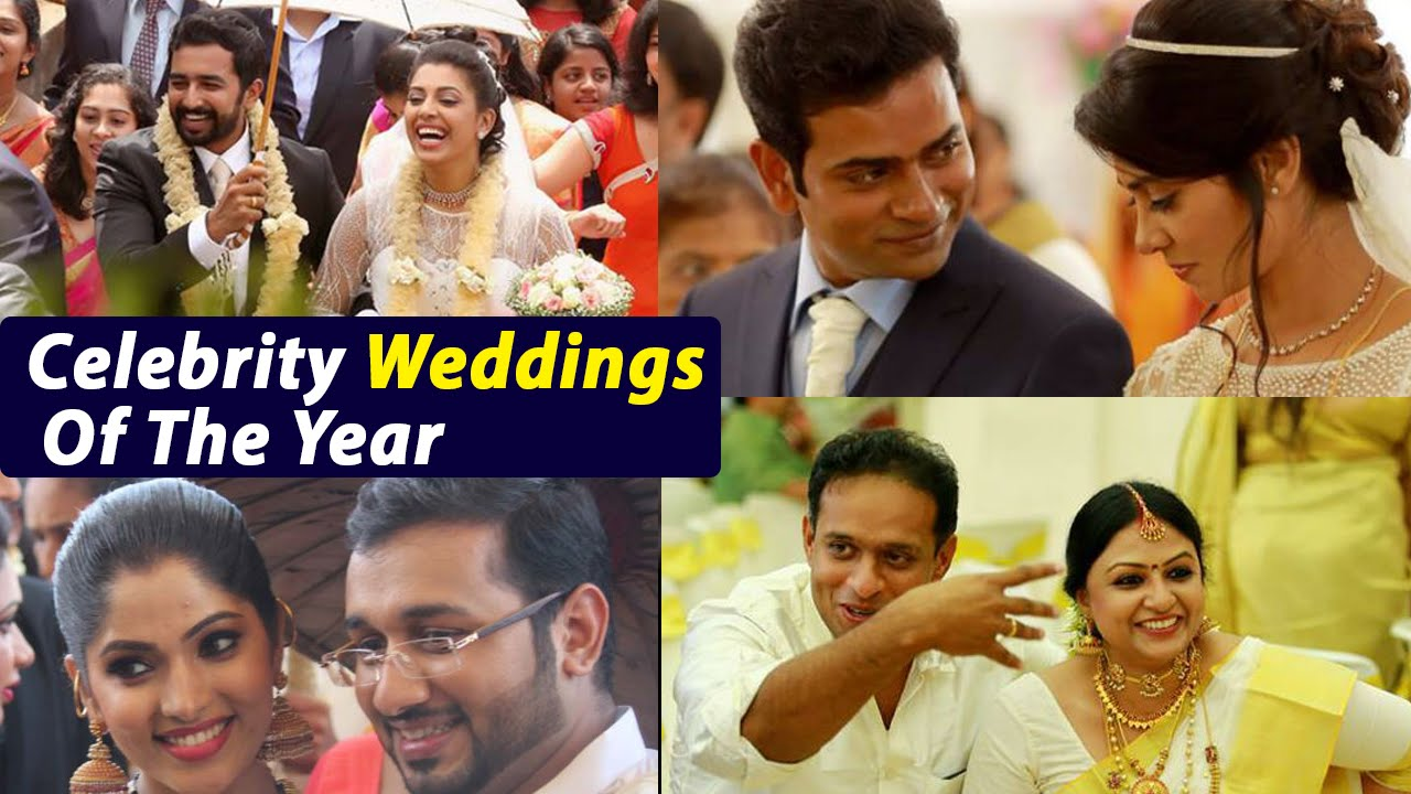 malayalam cinema 2015 celebrity weddings of the year