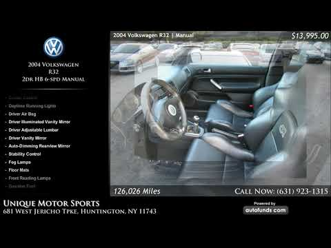 Used 2004 Volkswagen R32   Unique Motor Sports, Huntington, NY - SOLD