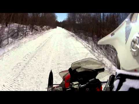 Fast Trail Riding In Millinocket Maine