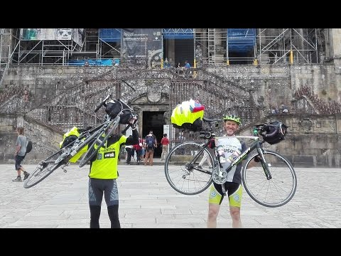 Santiago de Compostela na bicykli