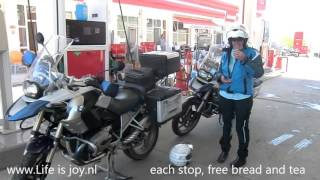 Turkey roadtrip on BMW R1200GS Pamukkale Eskisehir Istanbul Kirklareli motorcycle motorbike Aydin L